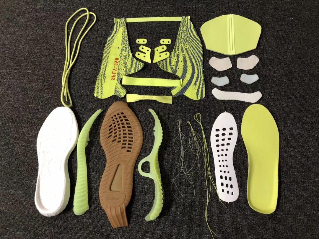 【OG版:350V2】黄斑马细节图对比