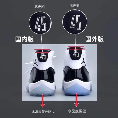 AJ11国内S2对比海外发售版详细图对比