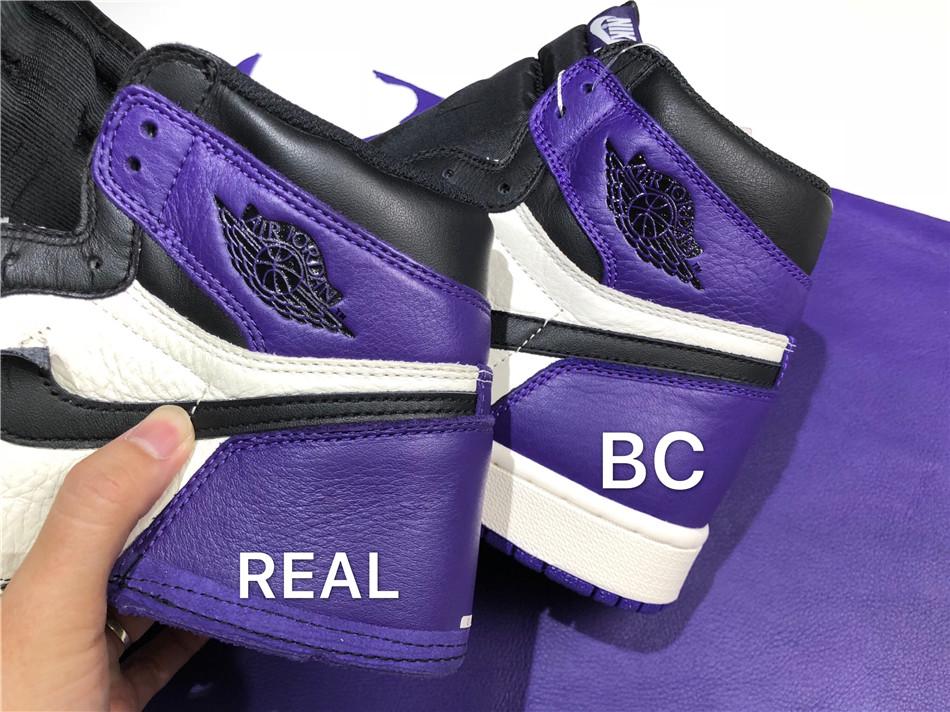 【BC  AJ紫脚趾对比图 ZP对比分析 图文专业讲解】
