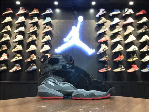 """乔丹/Air Jordanaj8 AJ8 乔丹8代 乔8 乔丹8 Air Jordan 8 """"Cement""""货号:305381-022 乔8黑水泥 40-46"""
