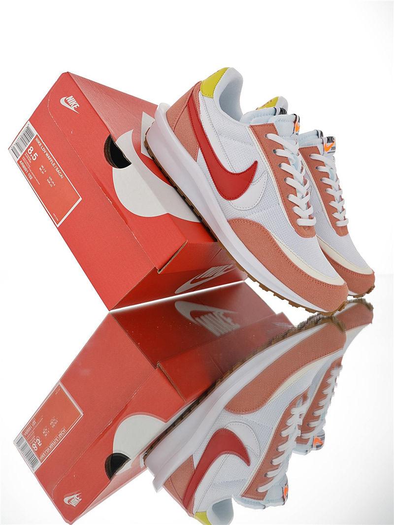 "潮流板鞋-Sacai x Nike Ldv Waffle""W"