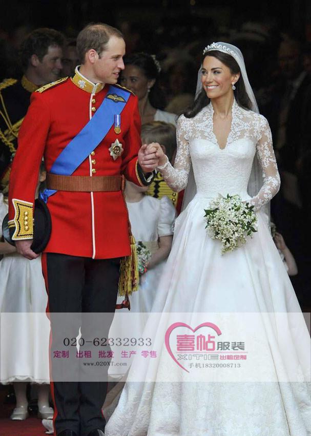 英国皇室服装 王子服装 威廉王子服装出租定制