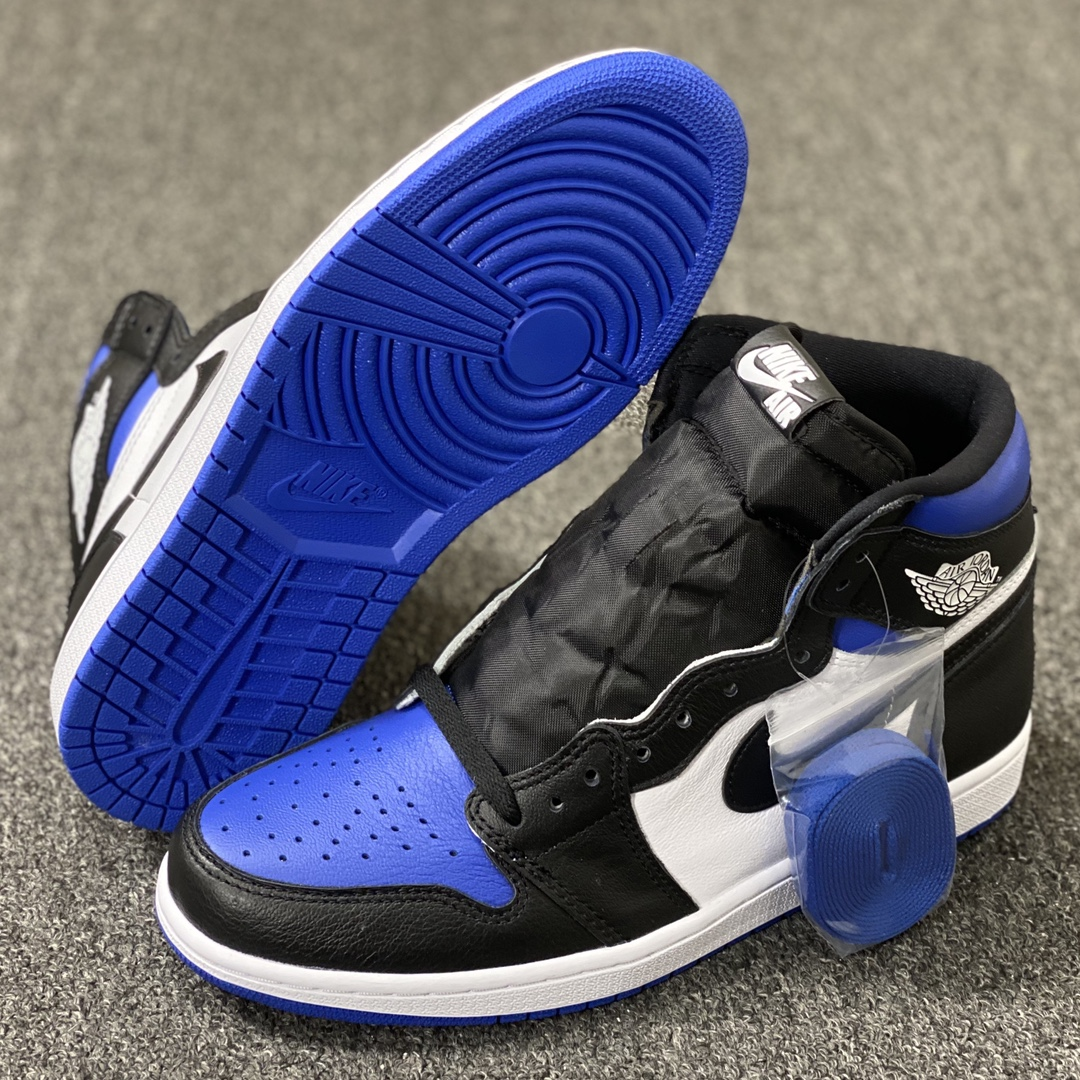 """莞顶L Air Jordan 1 """"Game Royal"""" 裕三厂虎扑高几新皇家蓝配色 555088-041_ljr版本什么意思"""