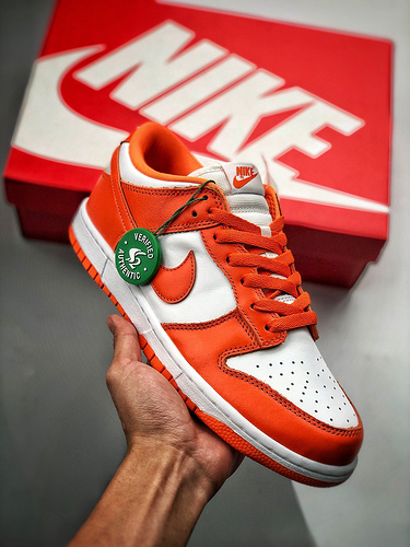 Nike SB Dunk Low Pro  经典回归 白橘雪城 白橙 CU1726-101_莆田假鞋都可以过毒了封面
