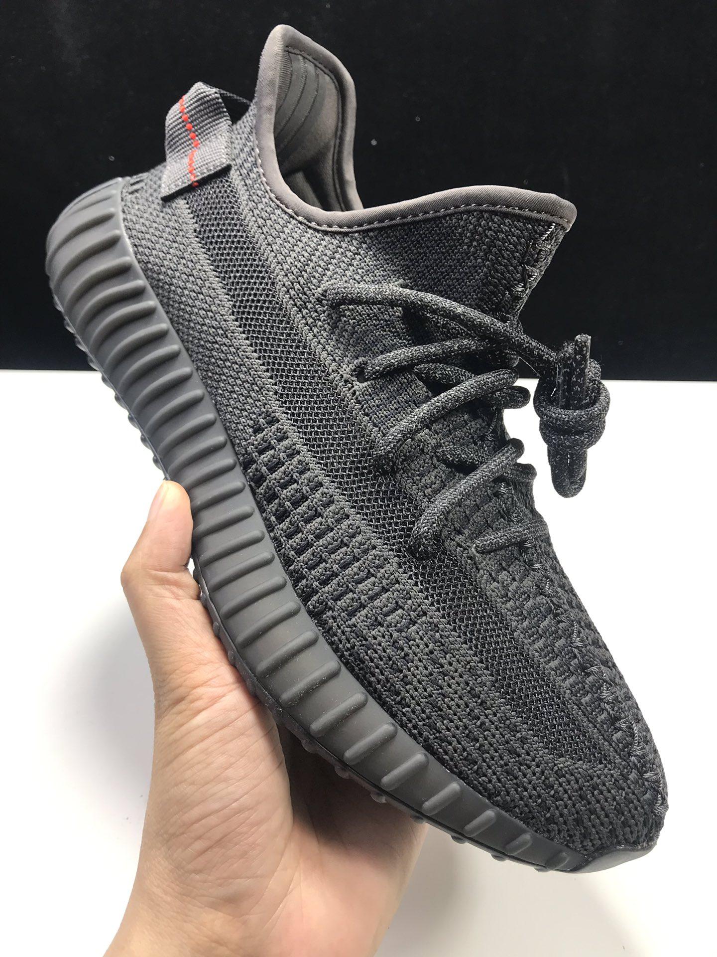 """【特供版:350V2】 黑天使  Adidas Yeezy Boost 350 V2 """"BLACK"""",货号:FU9006_ljr版本什么价格"""