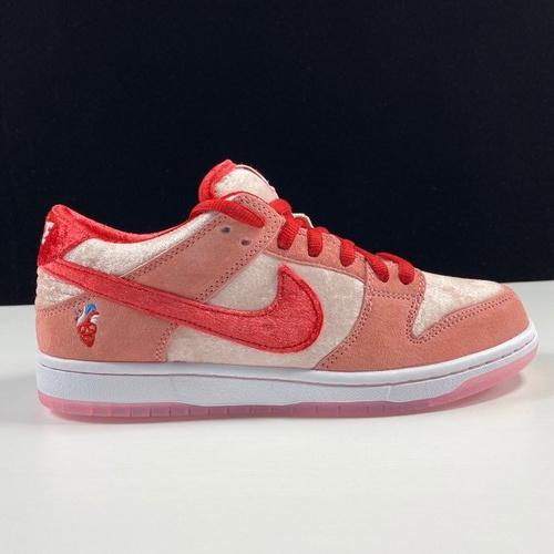 莞 StrangeLove x Nike SB Dunk Low 情人节限定 丝光麂皮 情人节配色CT2552-800_pk版本和ljr