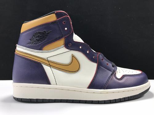 莞N版:AJ1 刮刮乐 紫金湖人  AJ1 x Nike Dunk SB Lakers,货号:CD6578-507_ljr版本的椰子