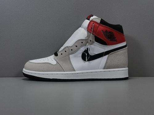"""X版_AJ1 兔八哥烟灰  莞产 Air Jordan 1 High OG """"Light Smoke Grey"""",货号_555088-126_莆田x版鞋"""