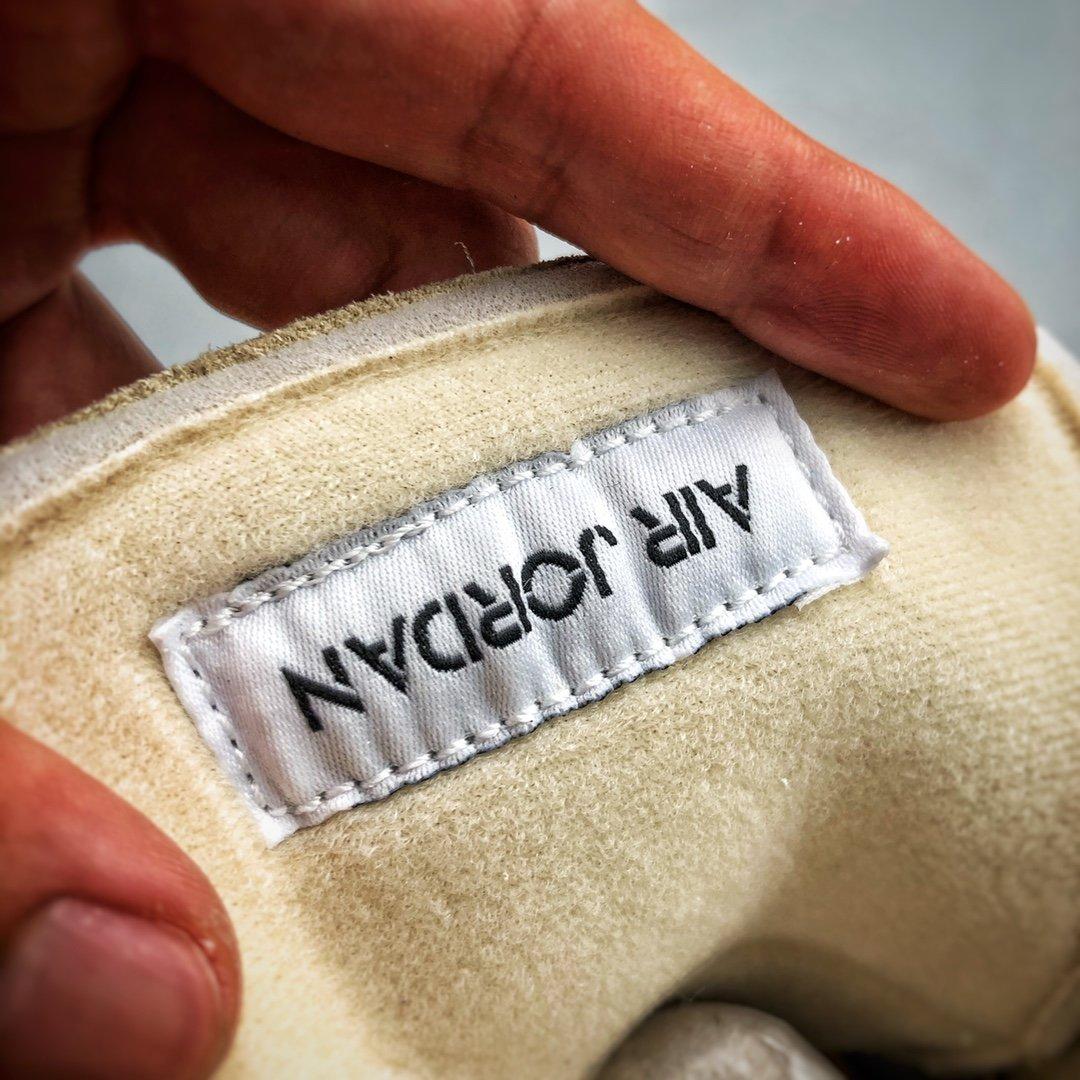 Off-White™ x Air Jordan 4 Retro S2原装 W沙浅棕米白黑 CV9388-100_s2纯原AJ12