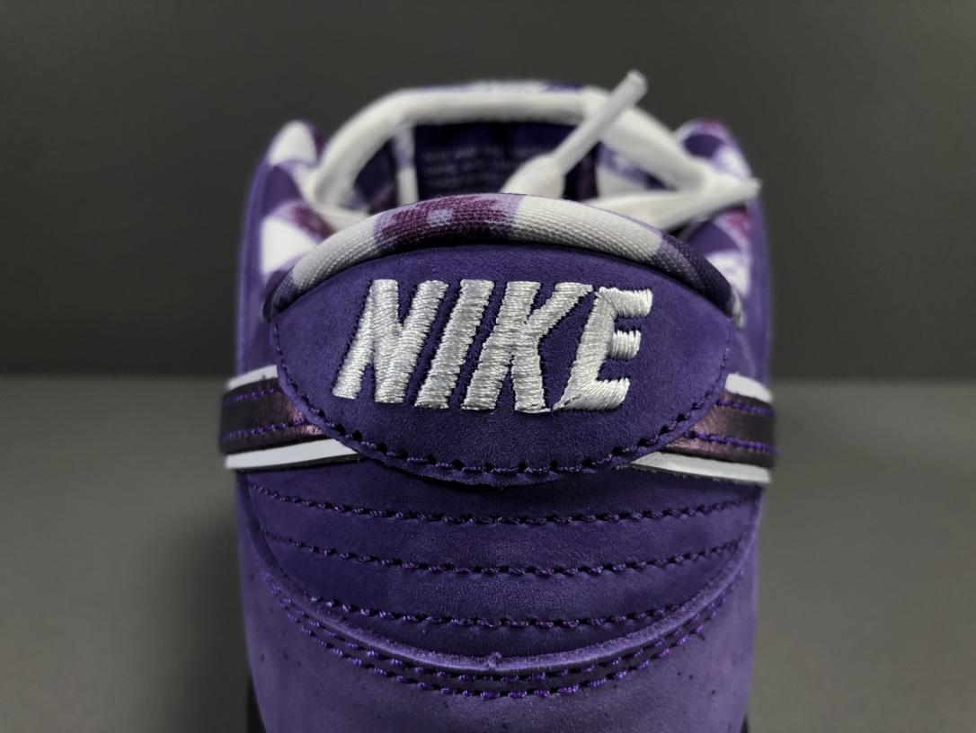 【OG版:DUNK SB】紫龙虾   Concepts x NK SB Dunk Low  联名 货号:BV1013-555_椰子lw版本是什么意思