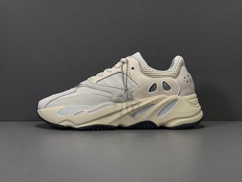X版_700 米白 Adidas Yeezy 700 ANALOG,货号_EG7596_莆田鞋x版