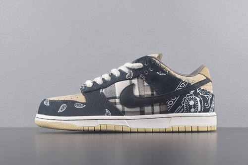 TRAVIS SCOTT X NIKE SB DUNK LOW 'Jackboys' 腰果花 特殊礼盒_椰子pk版好还是g5好