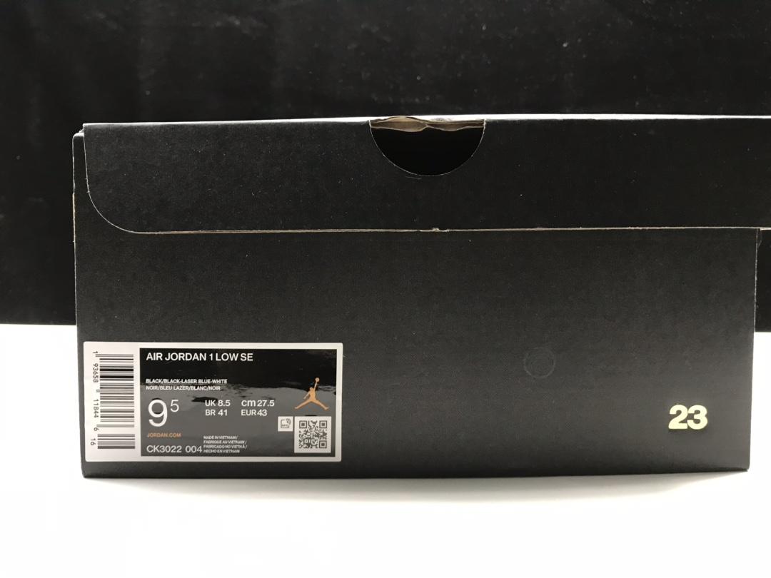 【莞H版:AJ1 Low】激光蓝低帮 Air Jordan 1 low OG,货号:CK3022-004_ljr版本去哪里买