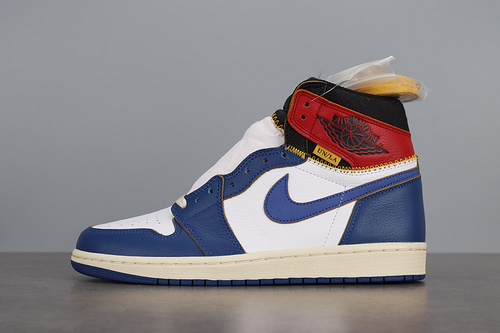 LJR版本   AIR JORDAN 1 RETRO HI NRG-union联名  BV1300-146_dg版本aj1和ljr