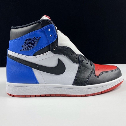 "Air Jordan 1 Retro OG High ""Top Three""裕 LJR版本鸳鸯配色 555088-026_倒钩ljr版本"