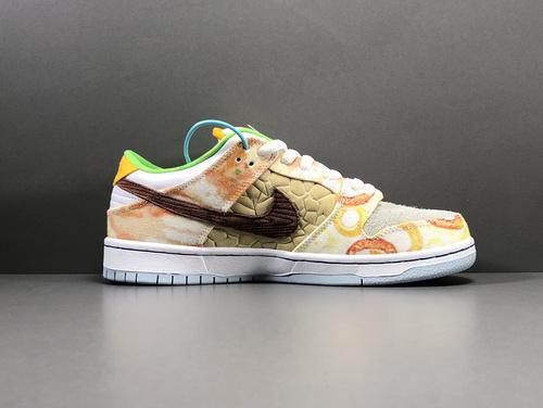 "【GOD版:DUNK】Nike SB Dunk Low Pro QS""Street Hawker""食神鸳鸯,货号CV1628-800_莆田god版本鞋做的怎么样"