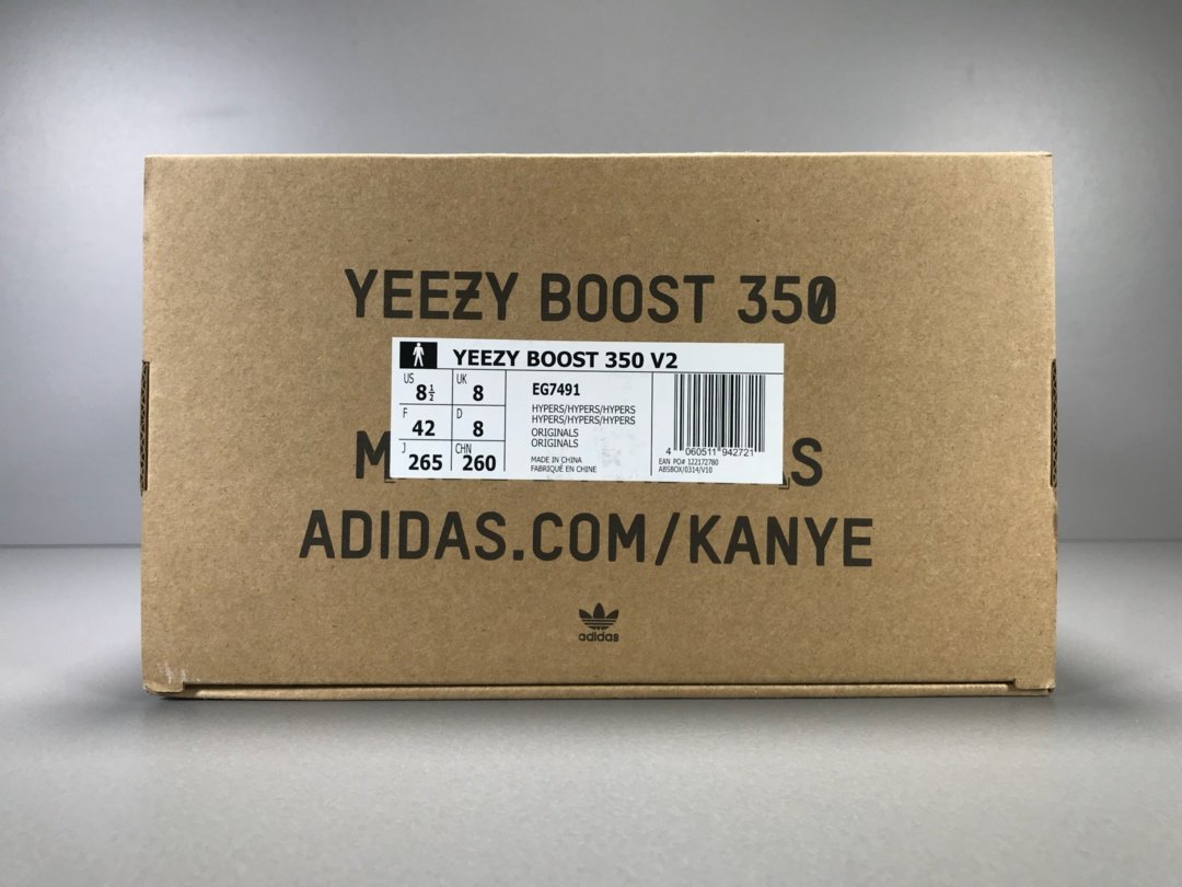 OG版350V2 亚洲限定 Yeezy Boost 350 V2 HYPERS 亚洲限定 货号EG7491_千叶鞋贸靠谱吗