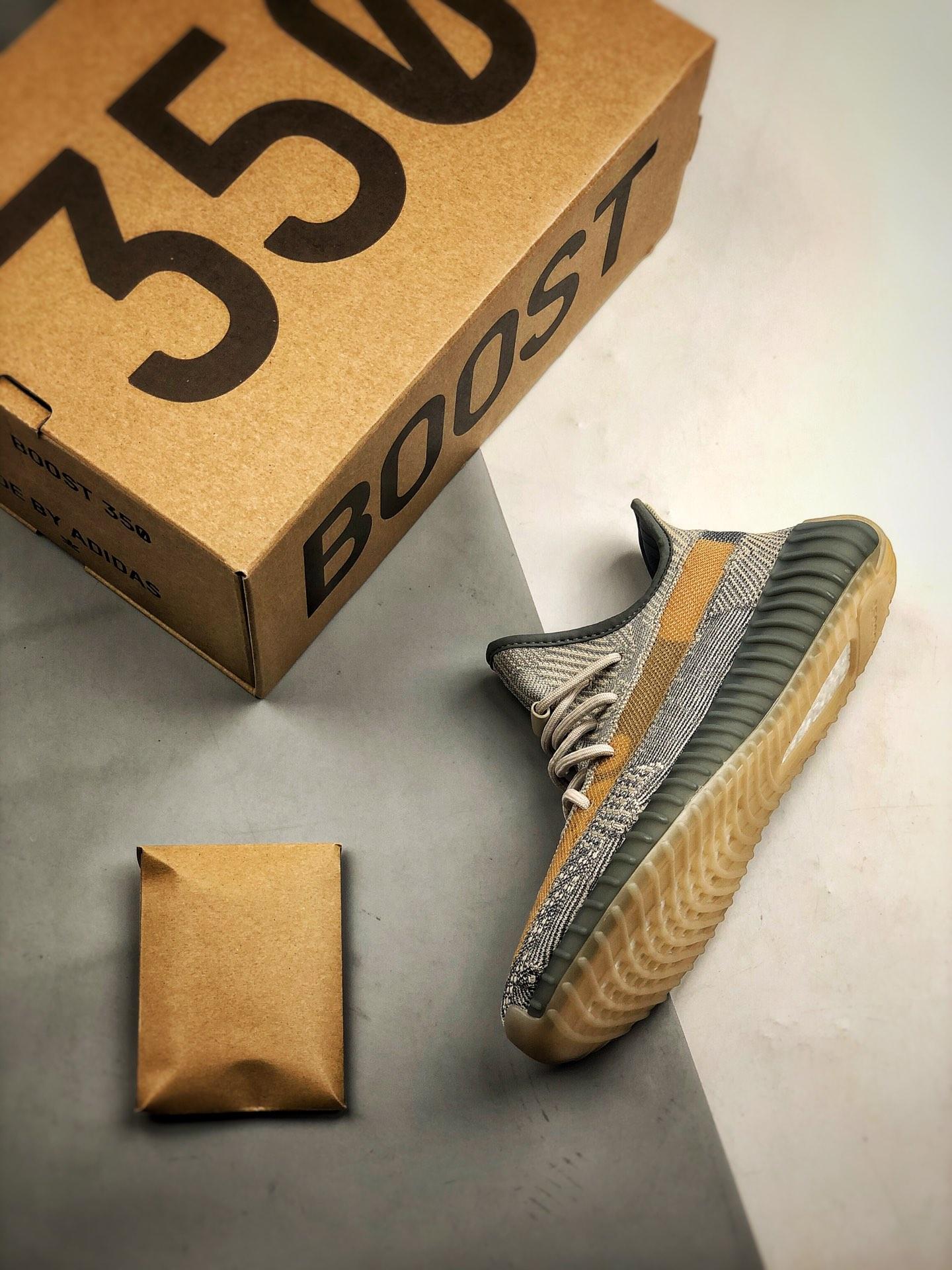 Yeezy 350V2 Israfil灰蓝_假鞋五个等级