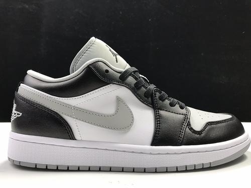 莞H版:AJ1 Low影子灰低帮 Air Jordan 1 low OG,货号:553558-039_莆田god版鞋子