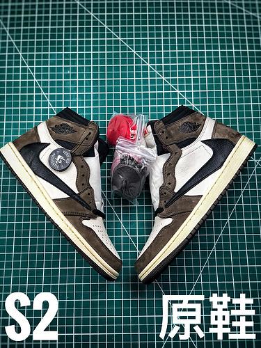 S2纯原倒钩高帮 VS 发售原鞋 原盒、防尘纸 直观比对