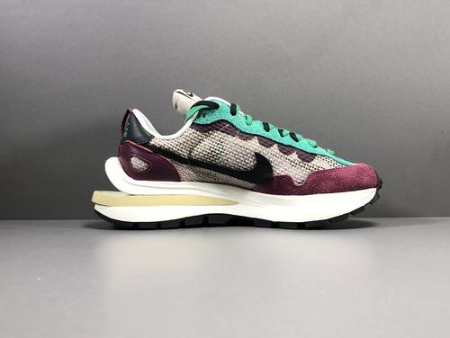 【X版:双勾3.0】酒红sacai x Nike VaporWaffle 货号:DD3035-200_x版莆田鞋是什么意思