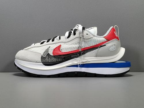 【X版:双勾3.0】白红 sacai x Nike VaporWaffle 货号:CV1363-100_绿色x版莆田鞋