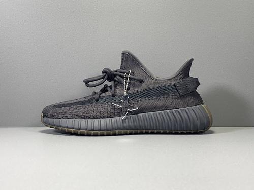 """X版纯原_350V2 生胶黑天使  adidas yeezy boost 350 V2 """"CINDER"""" ,货号_FY2903_莆田鞋x版本什么意思"""