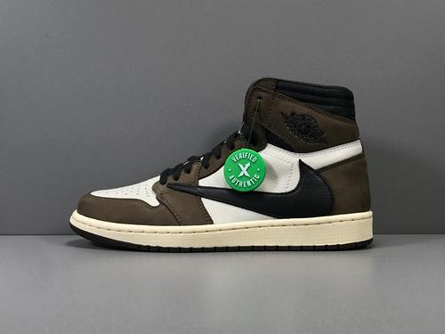 X版_AJ1 倒勾 莞产 Air Jordan 1 Retro High OG TS SP货号_CD4487-100_莆田鞋xp版本是什么意思