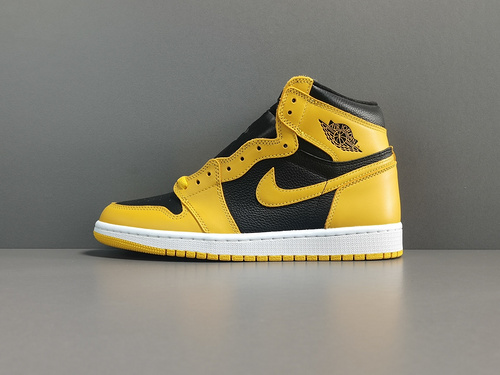 "OG版_AJ1_黑金脚趾 Air Jordan 1  Retro High OG ""Pollen""货号:555088-701_椰子og版和星魂版"