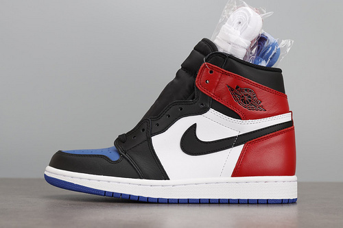 LJR版本 Air Jordan 1 TOP3 AJ1 乔1 鸳鸯 红蓝 555088-026_莆田god版本鞋做的怎么样