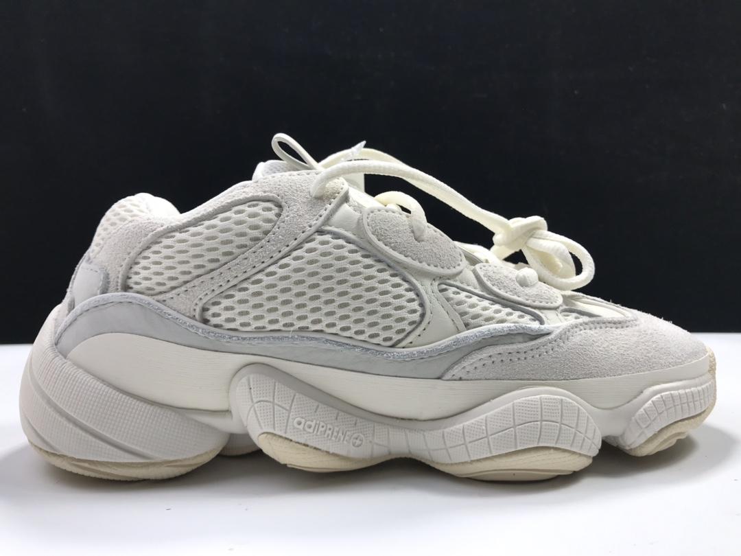 【G5版:椰子500】骨白  阿迪达斯 adidas yeezy 500,货号:FV3573_LJR版本是什么