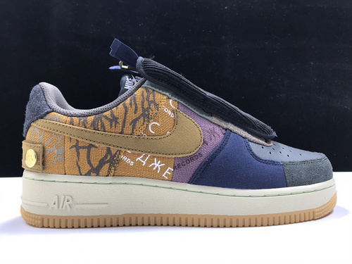 TS空军 联名款  Travis Scott x Nike Air Force 1 Low,货号:CN2405-900_ljr版本的鞋子