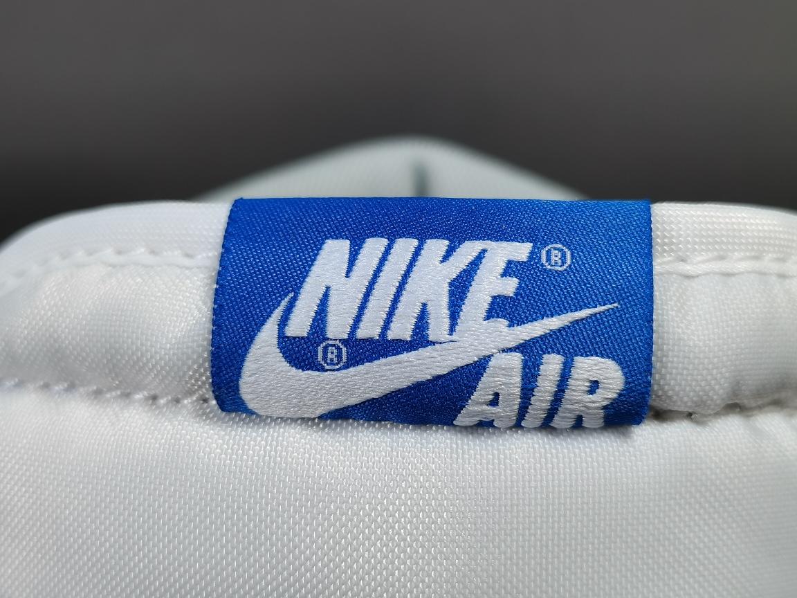 "【GOD版:乔1】 水洗白蓝 Air Jordan 1 Retro High OG""Hyper Royal""货号:555088-402_莆田god版本"