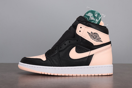 LJR  Air Jordan 1 RETRO HIGH OG 555088-081 黑粉脚趾_ljr版本去哪里买
