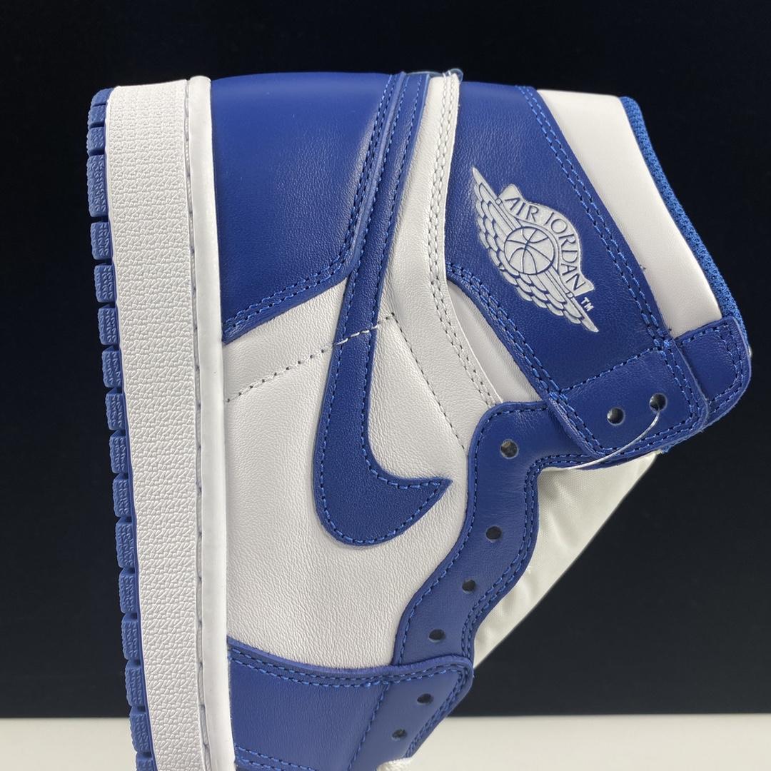 """东莞L Air Jordan 1 OG """"Storm Blue"""" 风暴蓝配色 555088-127_莆田god版本"""
