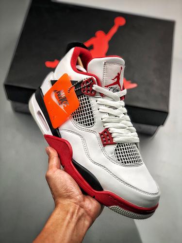 "Air Jordan 4 ""Fire Red""  火焰红 2020年_s2纯原区别"