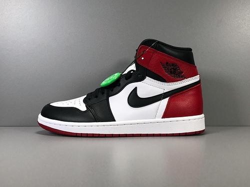 X版_AJ1 黑白脚趾 莞产 Air Jordan 1 Retro High OG,货号_555088-125_莆田x版本什么意思