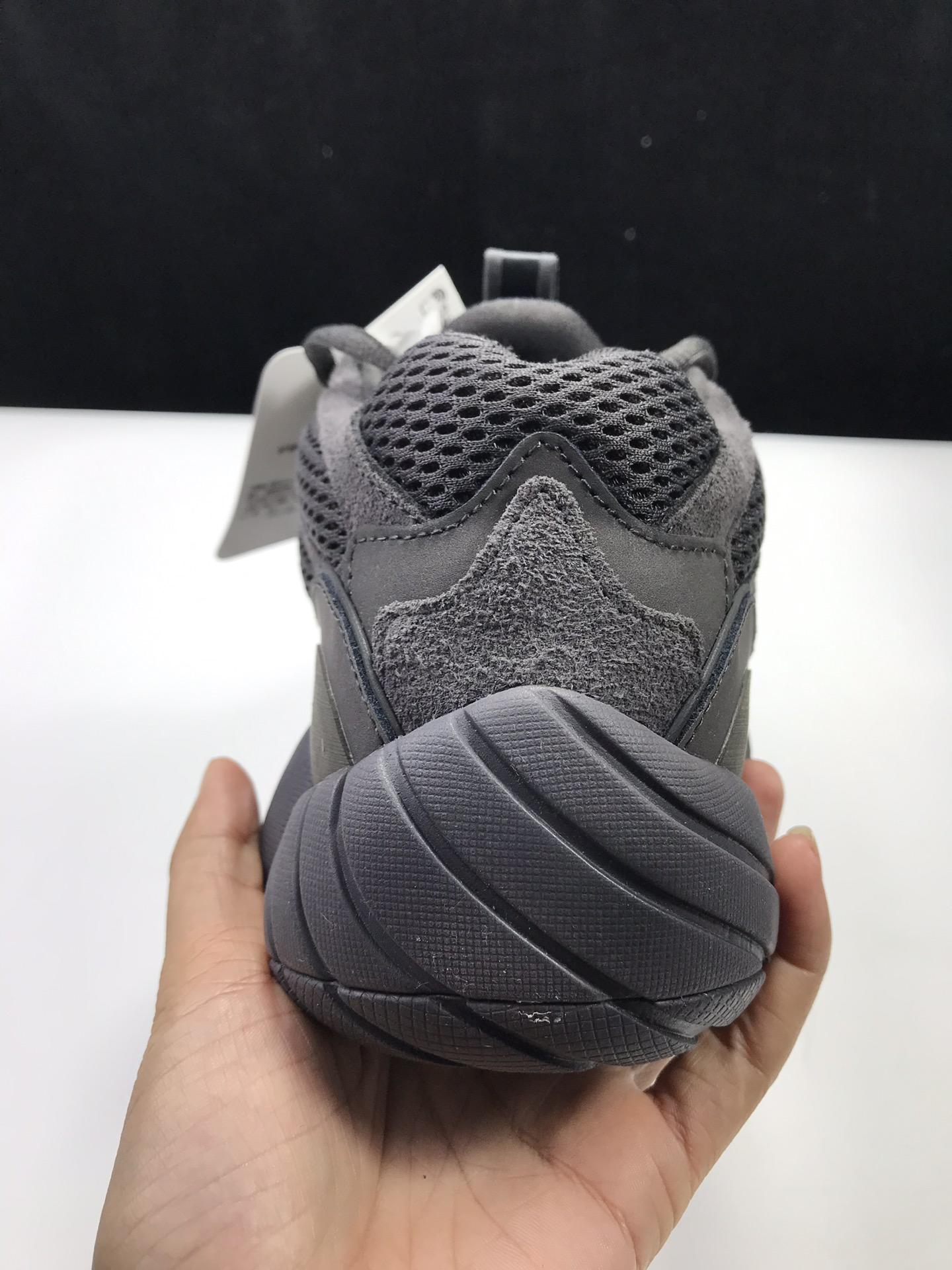 【性比G5版:椰子500】黑魂  阿迪达斯 adidas yeezy 500,货号:F36640_ljr版本微信