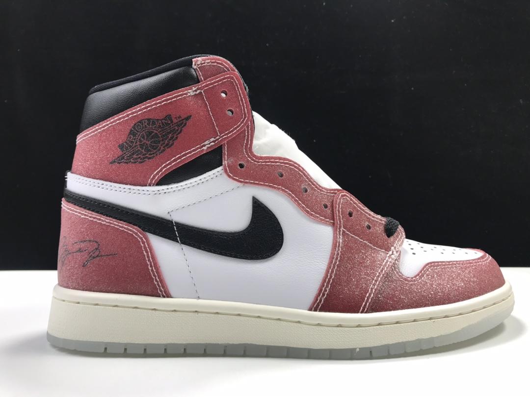 "Air Jordan 1 High OG SP ChicagoAJ1代经典复古经典高帮百搭文化篮球鞋""联名黑红芝加哥""DA2728-100_ljr版本有做哪些鞋"