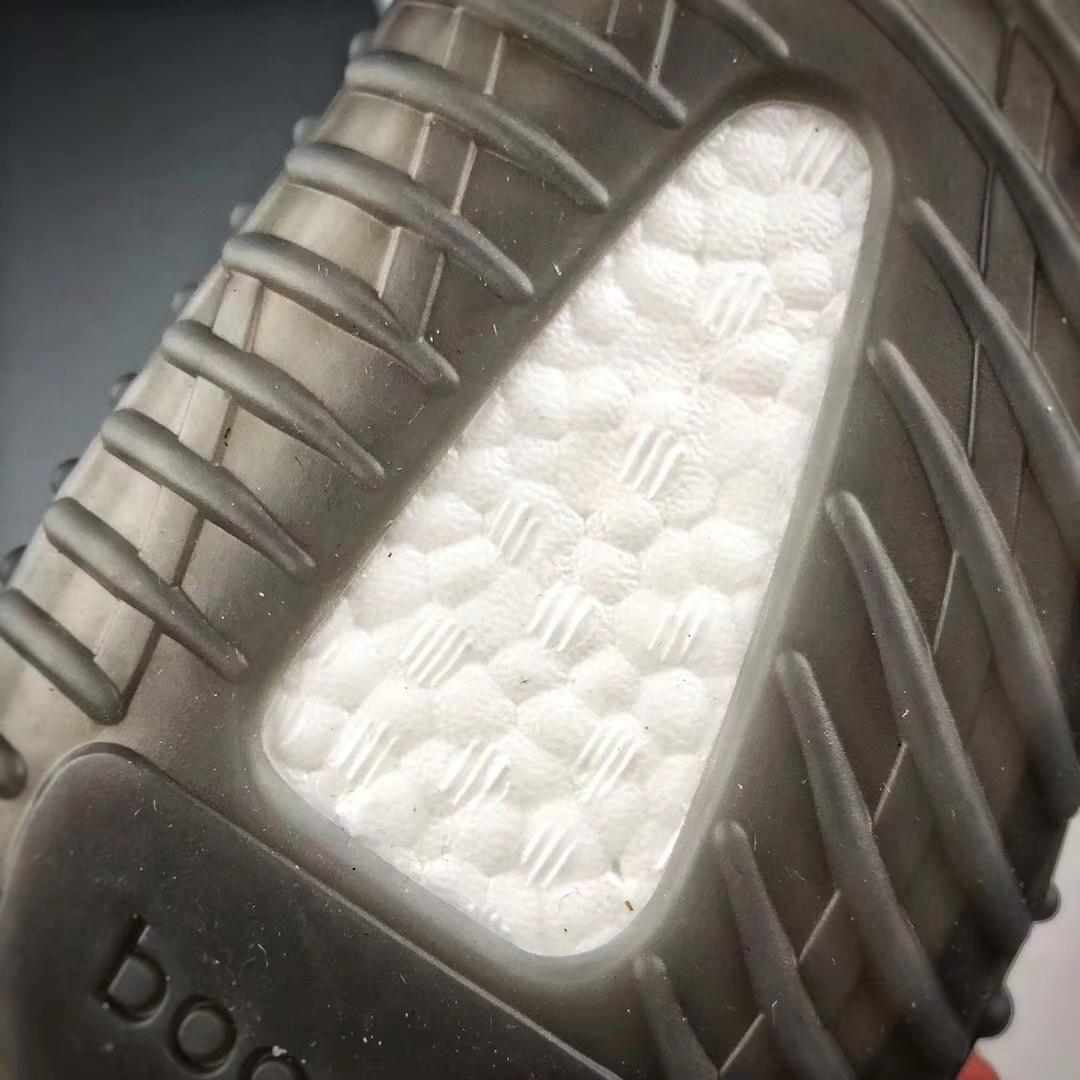 OG椰子350纯原 新灰橙 配色AH2203_莆田鞋最高版本和公司级差别