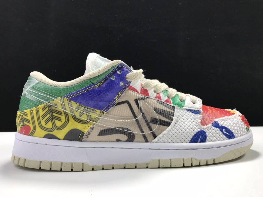 "Nike SB Dunk Low ""City Market"" 货号:DA6125-900_东莞LJR版本什么意思"