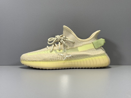 "X版纯原_350V2 亚麻色 adidas yeezy boost 350 V2 ""FLAX"" ,货号_FX9028_莆田鞋x版aj"