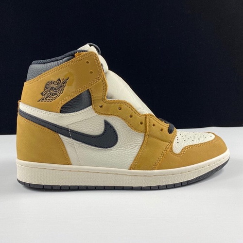 "LJR版本 Air Jordan 1 Retro OG ""Rookie of the Year""裕 新秀配色 555088-700_pk版本和ljr"