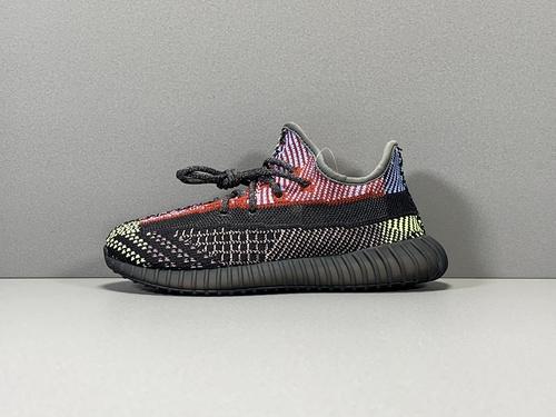 OG版_350V2童鞋 黑羽毛 Yeezy boost 350V2 kids,货号_FX0777_椰子pk版本和og版本哪个好