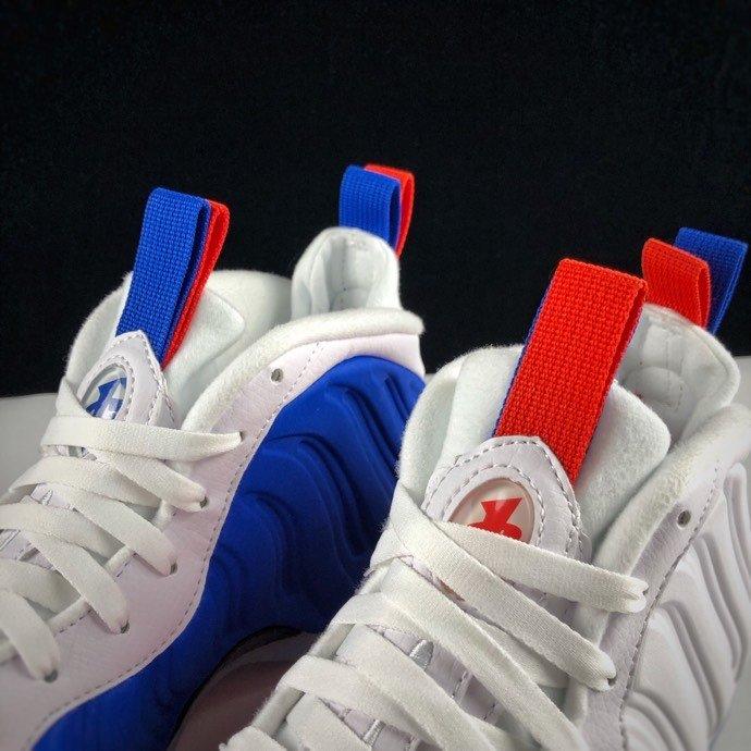 """东莞货 Air Foamposite One """"USA"""" 真标真碳纤 阴阳美国喷配色 AA3963-102_AJ清远河源裸鞋厂家"""