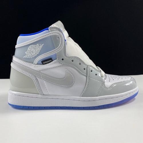 """莞顶AJ Air Jordan 1 High Zoom R2T """"Racer Blue"""" 小迪奥配色 CK6637-104_Ljr版本黑灰影子"""