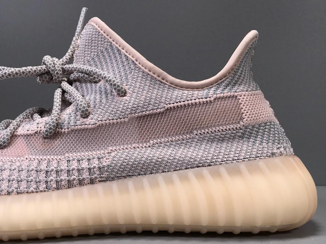 "OG版_350V2 银粉 Adidas Yeezy Boost 350 V2 ""SYNTH"",货号_FV5578_yeezy碰水会开胶吗"