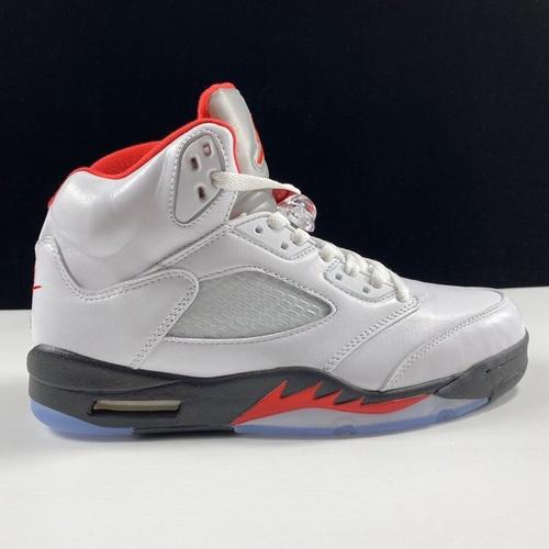 Air Jordan Retro 5 OGFire Red今年最值得买的OG 优选性价比版本 乔丹AJ5代复古篮球鞋 流川枫白红原色火焰红配色 DA1911-102_汪版本和ljr