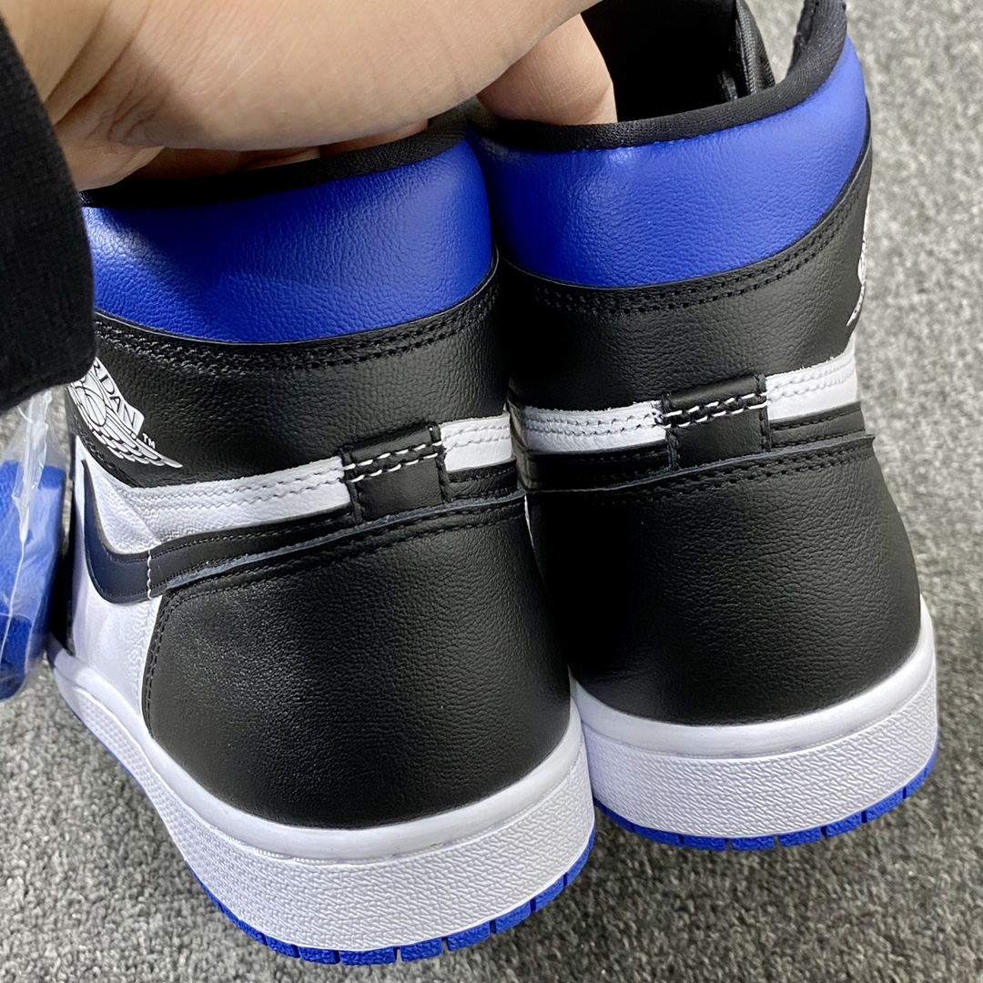 """莞顶L Air Jordan 1 """"Game Royal"""" 裕三厂虎扑高几新皇家蓝配色 555088-041_莆田鞋god版是什么意思"""