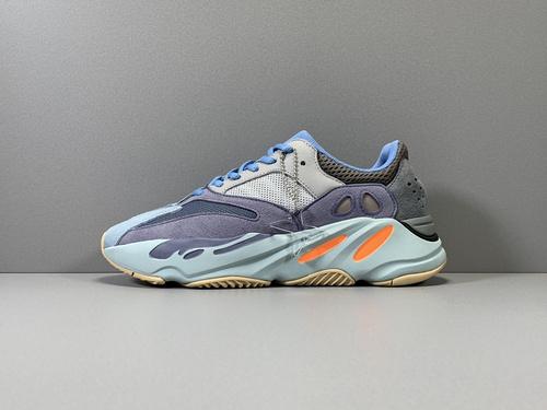 X版纯原_700 碳蓝 Adidas Yeezy 700 CARBLU,货号_FW2498_莆田鞋x版本什么意思